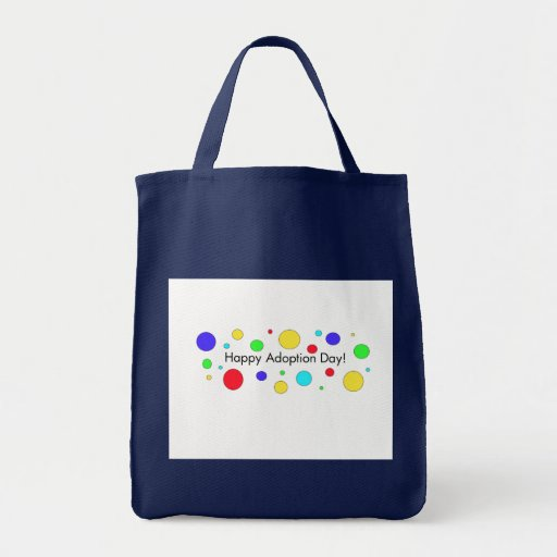 Happy Adoption Day Canvas Bag