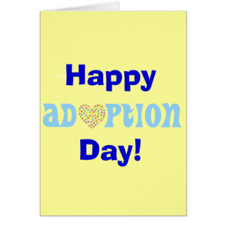 Happy Adoption Day! Card