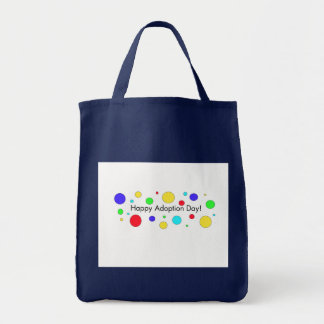 Happy Adoption Day Grocery Tote Bag