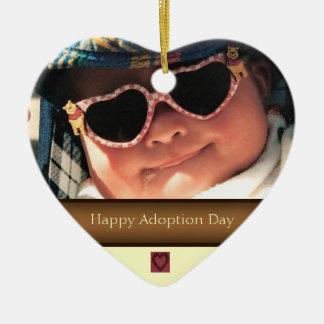 Happy Adoption Day Photo Ornament