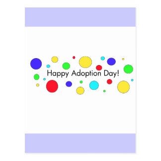 Happy Adoption Day Postcard