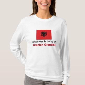 Happy Albanian Grandma T-Shirt