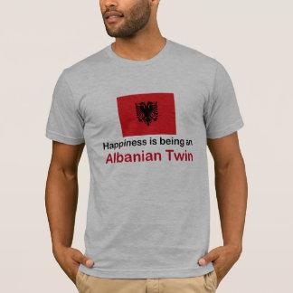 Happy Albanian Twin T-Shirt