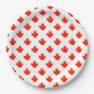 Happy All Over Canada Day Party Paper Plates