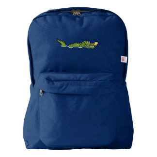 Happy Alligator Backpack