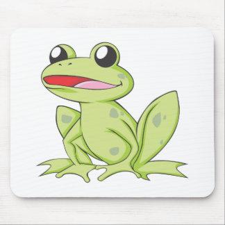 Happy American Bullfrog Mousepads