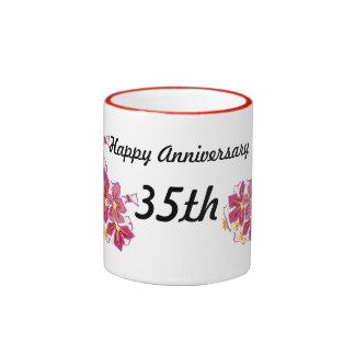Happy Anniversary 35th Coffee Mug