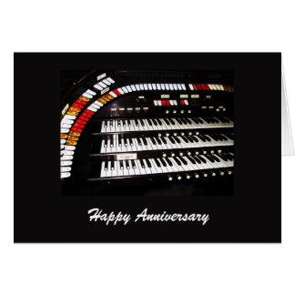 Happy Anniversary Ancient Organ Cards