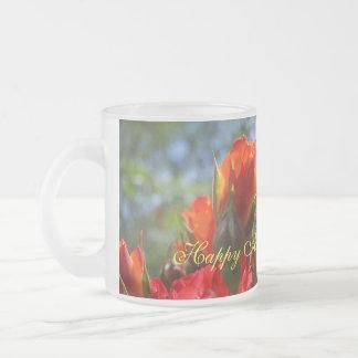 Happy Anniversary Baby gift mugs Red Roses