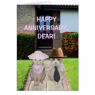 HAPPY ANNIVERSARY DEAR GREETING CARDS