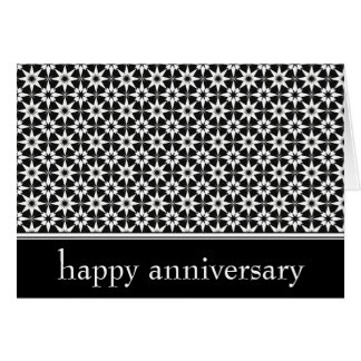 happy anniversary : elegant : greeting card