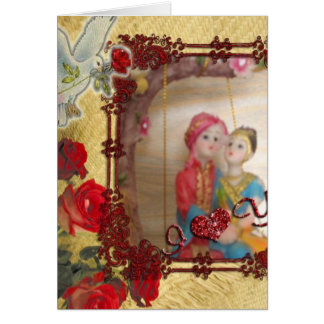 Happy Anniversary for you Both Greeting Card