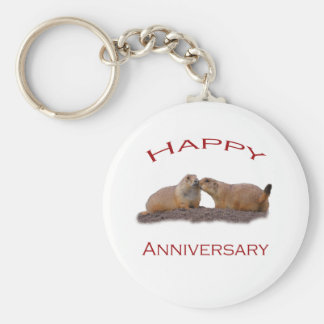 Happy Anniversary Kiss Key Chains