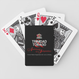 Happy Anniversary of Independence T&T Bicycle Playing Cards