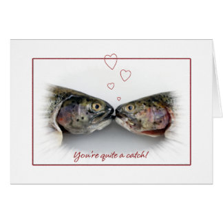Happy Anniversary Pair of Trout Card
