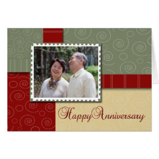 Happy Anniversary - Photo Card Template