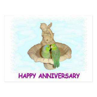 Happy Anniversary Postcard