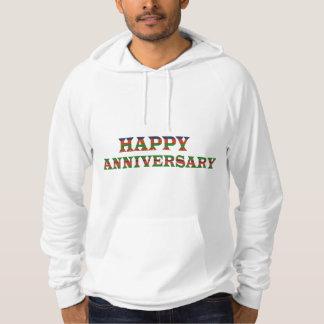 HAPPY ANNIVERSARY TEXT: happyanniversary lowprice Hooded Sweatshirts