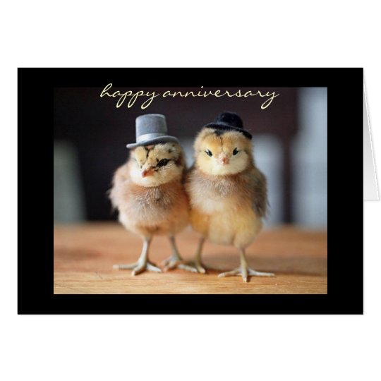 Happy Anniversary to Quite a Pair (greeting card)