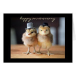 Happy Anniversary to Quite a Pair (greeting card) Note Card