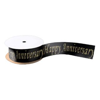 happy anniversary ribbon