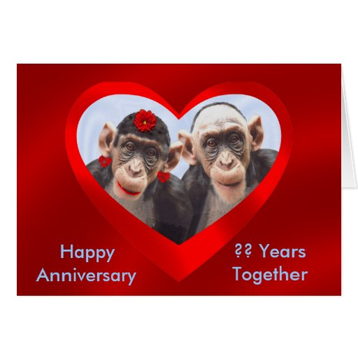 HAPPY ANNIVERSARY ?? YEARS TOGETHER-GREETING CARD