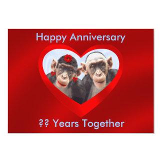 HAPPY ANNIVERSARY ?? YEARS TOGETHER-INVITATION-2 CARD