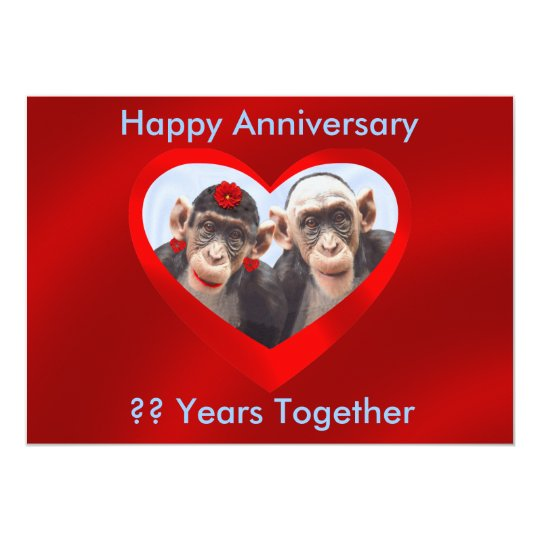 HAPPY ANNIVERSARY ?? YEARS TOGETHER-INVITATION-2 CARD