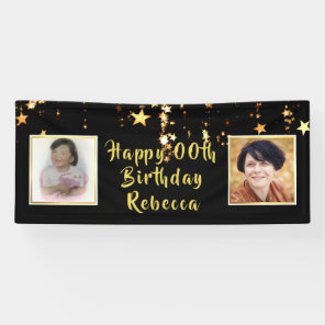 Happy ANY Birthday | Stars | Then & Now Photos Banner