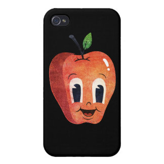 Happy Apple Covers For iPhone 4