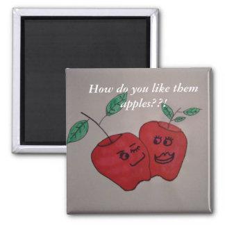 happy apples magnet