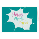 Happy April Fools - Greeting Card
