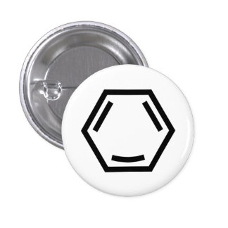 Happy Arene (single, black) 3 Cm Round Badge