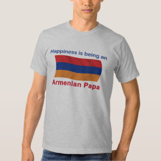 Happy Armenian Papa Tshirts