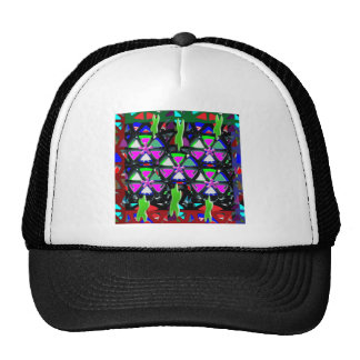 HAPPY Art All Occasions Flowers Stars Pink NVN703 Mesh Hats