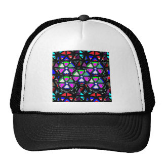 HAPPY Art All Occasions Flowers Stars Pink NVN703 Trucker Hats