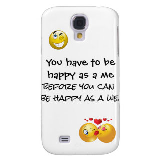Happy as a we phone case