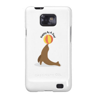 Happy As Seal Samsung Galaxy S2 Cover