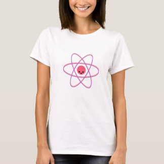 Happy atom -- pink T-Shirt