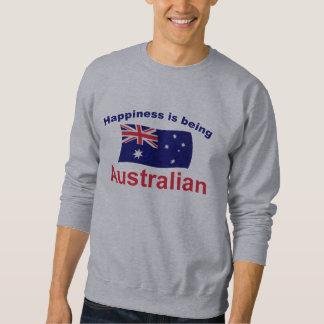 Happy Australian Pullover Sweatshirts