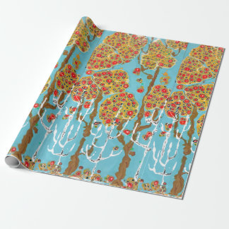 Happy Autumn Gift Wrapping Paper