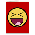 Happy Awesome Face Card