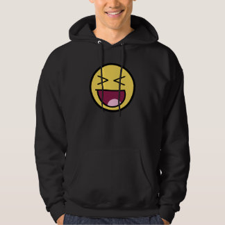 Happy Awesome Face Dark Hoodie