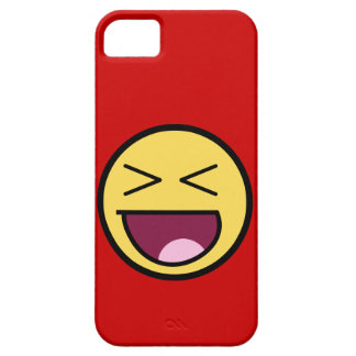 Happy Awesome Face iPhone 5 Case
