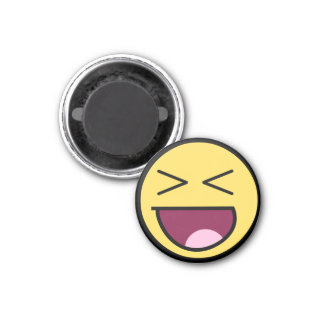 Happy Awesome Face Magnet