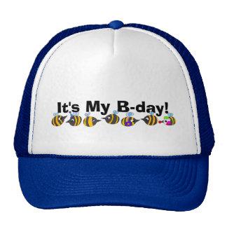 Happy B-Day Cap