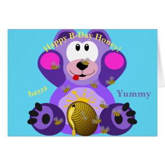 Happy B-Day Greeting Card Kids