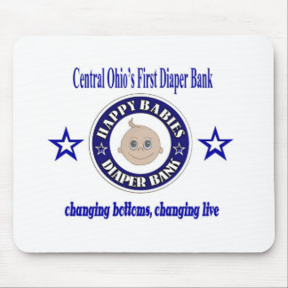 Happy Babies Diaper Bank Mouse Pad