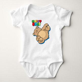 Happy Baby by Yoga Teddy Bear Baby Bodysuit