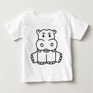Happy Baby Hippo Baby T-Shirt